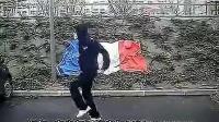 高清法国面具男鬼步舞 鬼步舞高手 鬼步舞mv 鬼步舞视频_标清