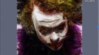PS蝙蝠侠小丑手绘作品教程
