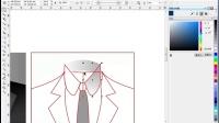 cdr制作 服装设计3_ coreldraw 画服装教程  cdr怎么设计字体
