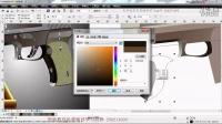 cdr视频教程  coreldraw设计案例 日番谷 CorelDraw画立体效果图