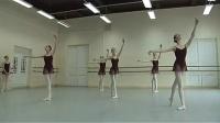 芭蕾舞 瓦岗诺娃学校四年级女班基训考试_标清
