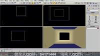 3DMAX基础视频教程第8课-简单客厅的制作