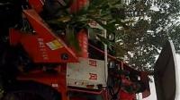 时风玉米收割机作业视频