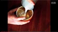 4咖啡拉花之印第安人拉花教程,印第安人拉花的做法-咖啡拉花视频-吧台人生分享