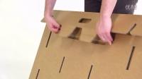 可折叠的纸板桌子