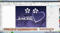 CorelDRAW X6 教程  CDR平面设计教程 喷绘设计 名片设计教程 CDR桌面背景绘制教程