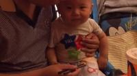 2014.08.11医院归来,宝宝的大包居然是蚊子咬的,我的儿,你真娇贵