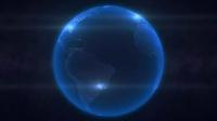 Videohive 1612-3D地球文字特效模板-星星非编素材