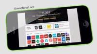 AE模板1409 -IPhone 5C手机动画AE模板