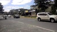 柬埔寨总统的干爹逝世车队