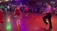 周游老师:四人牛仔舞表演