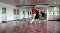 交谊舞中四步 交谊舞教学