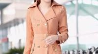 2014风衣女新款韩版正品时尚修身气质百搭显瘦短款女士秋装外套潮