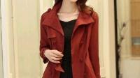 2014风衣女新款韩版正品修身气质休闲百搭显瘦短款女士秋装外套潮