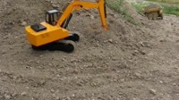 JDModels 挖土机工作