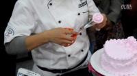 鲜奶油玫瑰花裱花技巧视频