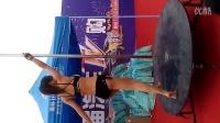 郑州省体育中心性感美女钢管舞表演