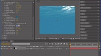 [AE]AE视频教程实例Adobe After Effects 水下透光效果