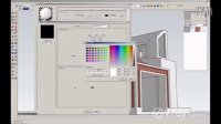 V-Ray for SketchUp - 如何减少白色材料上的蓝色--教程