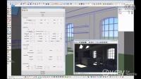 V-Ray for SketchUp - 日光设置(内部场景)--教程