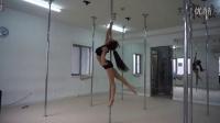 宋瑶钢管舞学生-周迅技巧展示