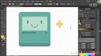 UI设计ai实例教程视频-UI笑脸界面ai排版视频教程