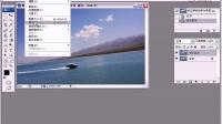 20 PS教程PS自由变换PS教学修正倾斜的照片