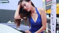 2014CAS上海改装车展 爆乳车模美女 (2)