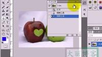 [PS]大丽博客photoshop基础教程第二十一课:模糊工具的使用