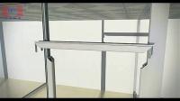 武汉博亿美铝业高隔墙安装详解