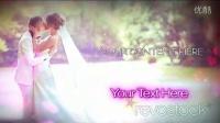 婚礼蒙太奇相册动画AE模板