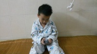 小家伙和手机Siri的对话
