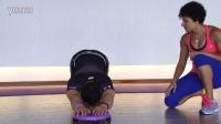 腹肌盘使用方法-背阔肌拉伸