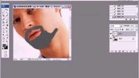 PS照片处理技巧教程 14 让胡须更浓密