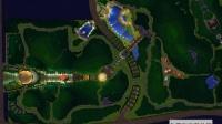 园林景观设计视频教程_ps彩平图_其他细节灯光处理