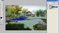 园林景观设计培训教程_ps效果图后期_透视浅水制作