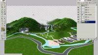 园林景观设计培训教程_ps效果图后期_鸟瞰山体的制作