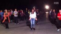 太仓板桥,美女舞,成龙拍摄,2014年11月2日晚上6:30分