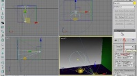 园林景观设计3dmax视频教程_3d基础light01