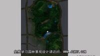 园林景观设计学习教程_ps彩平图_广场灯光处理