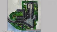 园林景观设计学习教程_ps彩平图_植物的配置-植物点缀深入