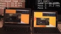 Surface Pro 3 i7 vs ThinkPad Yoga i7 游戏性能对比