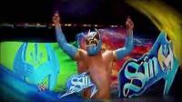 WWE619搭档辛卡拉vs米兹 科迪-罗兹 【中文解说】摔