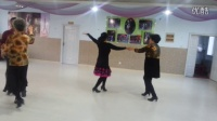 洮南交谊舞瀚海夏天中老年人锻练学跳牛仔舞