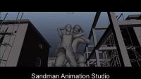 SANDMAN ANIMATION STUDIO - KIERON SEAMONS - KOCHADAIYAAN 3D ANIMATION
