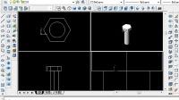 CAD中级考证 三维绘图  7-7