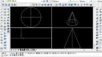 CAD中级考证 三维绘图  7-2