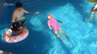第一次不用浮板游泳