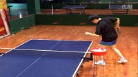 第16集:正手急长发球(奔球)《乒乓球九级训练内容与达标标准》教学视频教程