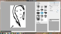 ps平面设计教程基础入门视频教程:素描滤镜组如何应用